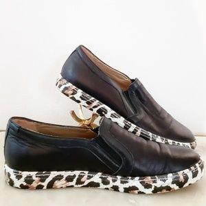 MAIMAI Leopard Print Flat Slip-On